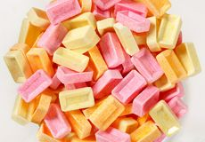 Pez fruit candy Royalty Free Stock Photo