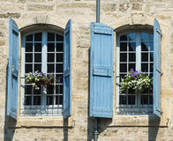 Pezenas (France). Pezenas (Herault, Languedoc-Roussillon, France), buildings of the medieval city royalty free stock photography