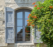 Pezenas (France). Pezenas (Herault, Languedoc-Roussillon, France), medieval city: typical house in gothic style royalty free stock photos