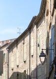 Pezenas (France). Pezenas (Herault, Languedoc-Roussillon, France), medieval city: windows royalty free stock images