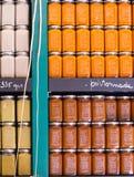 Pezenas (France): pots Stock Photos