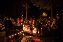 Ημέρα όλων των Αγίων, Pezinok, Σλοβακία Στοκ εικόνες με δικαίωμα ελεύθερης χρήσης
