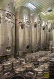 Pezinok - dell'interno della manifattura del vino Fotografia Stock Libera da Diritti