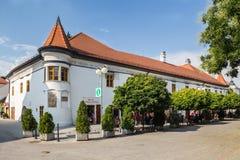 Pezinok en Eslovaquia Ayuntamiento viejo Fotografía de archivo libre de regalías