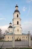 Pezna, Russie - 28 avril 2015 : Cathédrale hiérarchique de Pokrovsky Photos stock