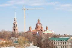 Pezna, Russie - 14 octobre 2015 : Cathédrale de Spassky Images libres de droits