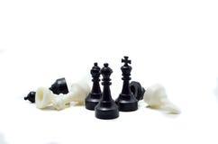 Pezzi degli scacchi immagini stock libere da diritti