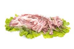 Pezzi di agnello Immagine Stock Libera da Diritti