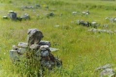 Pezzi di archeologia Fotografia Stock