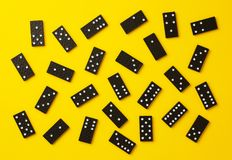 Pezzi di domino immagini stock