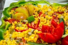 Pezzi di frutta, frutta dei fiori Fotografia Stock Libera da Diritti