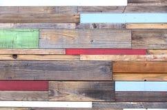 Pezzi di legno colorati Fotografia Stock Libera da Diritti