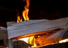 Pezzi di legno infornati immagini stock