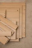 Pezzi di mobilia del flat pack Fotografia Stock