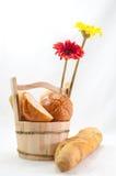 Pezzi di pane Immagini Stock Libere da Diritti