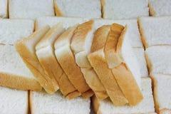 Pezzi di pane affettato immagine stock libera da diritti