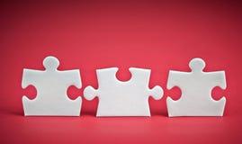 Pezzi di puzzle Immagine Stock