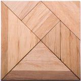 Pezzi di puzzle del tangram fotografia stock