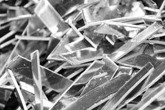 Pezzi di residuo di alluminio Fotografia Stock Libera da Diritti