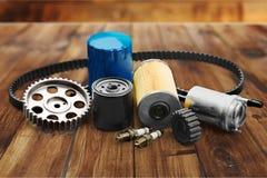 Pezzi di ricambio dell'automobile Fotografie Stock