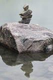 Pezzi di rocce impilate Fotografia Stock Libera da Diritti