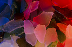 Pezzi di vetro del mare Immagini Stock