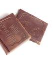 Pezzi favoriti di cioccolato Fotografia Stock Libera da Diritti