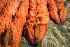Pezzi fritti del pesce Fotografia Stock Libera da Diritti