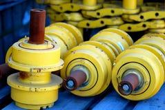 Pezzi meccanici Fotografia Stock Libera da Diritti