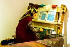 Pezzi turchi antichi in museo Immagini Stock Libere da Diritti