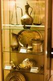 Pezzi turchi antichi in museo Fotografia Stock Libera da Diritti