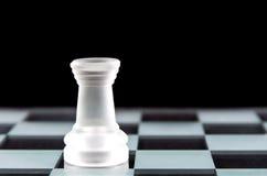 Pezzo degli scacchi del corvo Immagini Stock