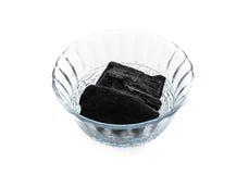 Pezzo del carbone Immagine Stock