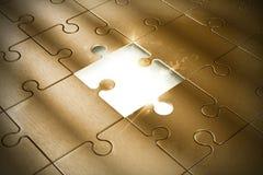 Pezzo del puzzle Immagini Stock Libere da Diritti