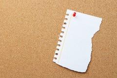 Pezzo di carta violento con lo spazio della copia Immagine Stock Libera da Diritti