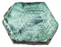 Pezzo di cristalli della mica del magnesio della flogopite Immagini Stock Libere da Diritti