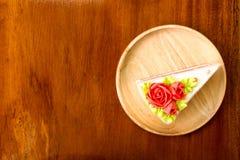 Pezzo di dolce Fotografia Stock Libera da Diritti