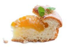 Pezzo di dolce della frutta Fotografia Stock