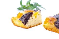 Pezzo di dolce dolce Immagini Stock Libere da Diritti