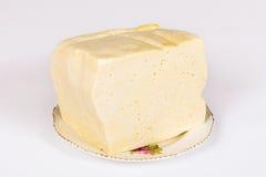 Pezzo di formaggio Fotografie Stock