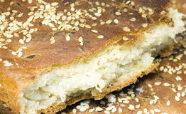 Pezzo di pane Immagini Stock Libere da Diritti