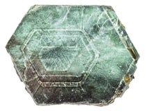 Pezzo di pietra della mica del magnesio della flogopite Fotografia Stock Libera da Diritti