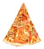 Pezzo di pizza Fotografia Stock Libera da Diritti