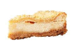 Pezzo di torta casalinga della cagliata Immagini Stock Libere da Diritti