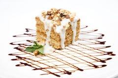 Pezzo di torta Fotografia Stock