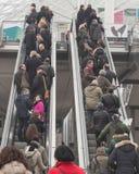 Pezzo di visita 2015, scambio internazionale della gente di turismo a Milano, Italia Immagini Stock Libere da Diritti