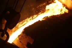 Pezzo fuso del metallo Immagini Stock
