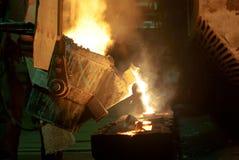 Pezzo fuso del metallo Fotografia Stock
