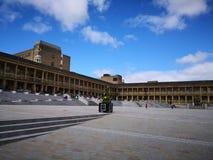 Pezzo Hall Halifax West Yorkshire fotografia stock libera da diritti