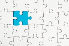Pezzo mancante in un puzzle, concezione di affari Immagine Stock Libera da Diritti